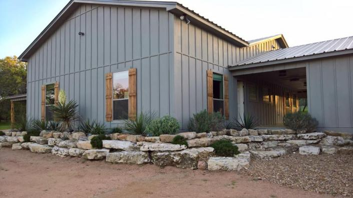 Every nook and corner at The Moss Ranch at Enchanted Rock is surrounded by beautiful landscaping and more!