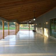 Perfect for parties or outdoor wedding ceremonies, our covered pavilion has ample space for all your venue needs.