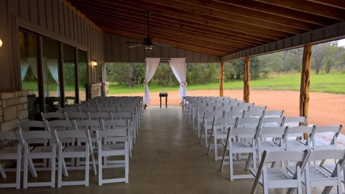 Get a bit of both by having a wedding ceremony beneath our beautiful pavilion!